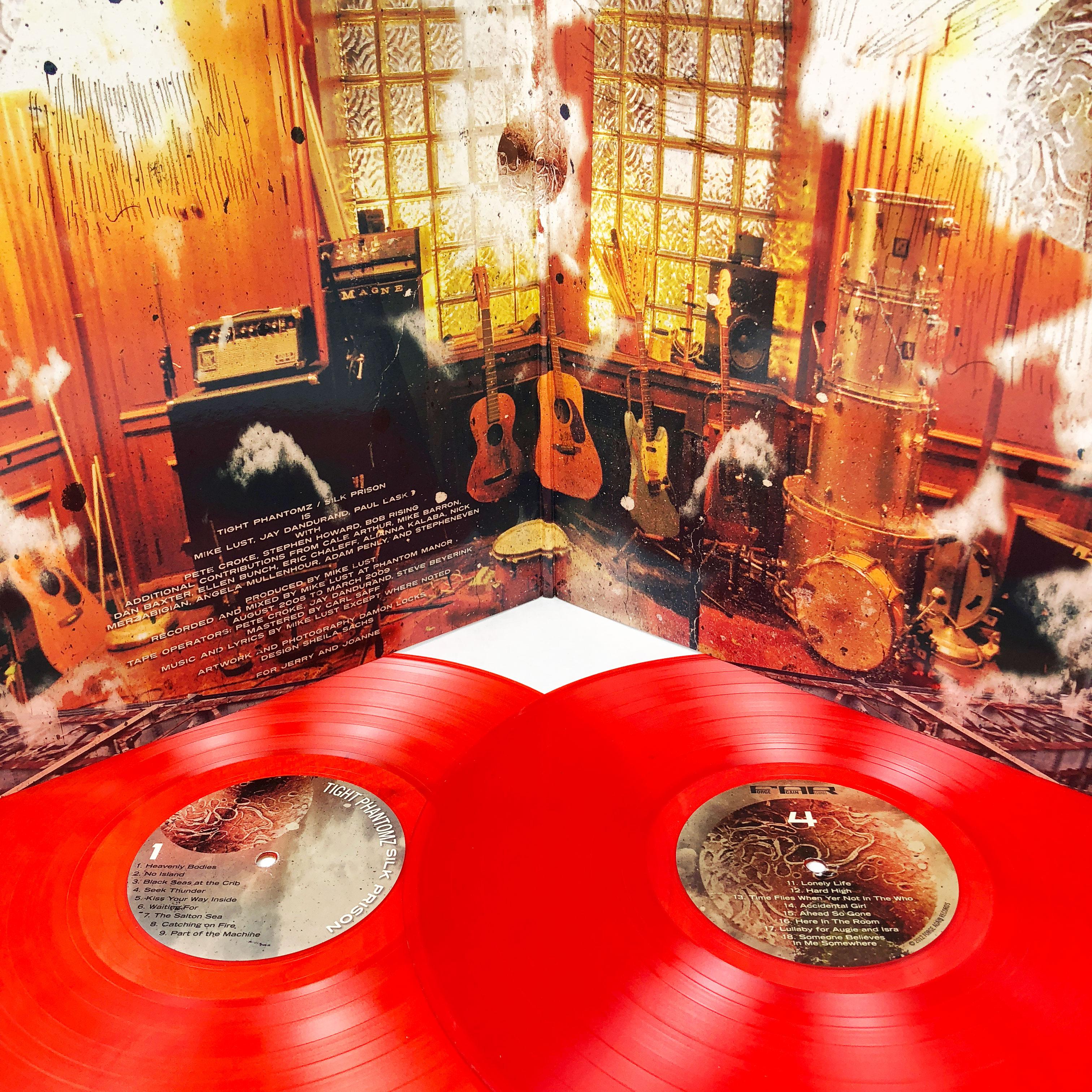 Tight Phantomz Silk Prison 2xlp Handstand Records Kaos Catching Fire