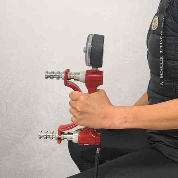 hand therapy grip strength measurement