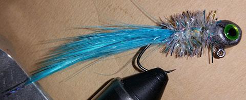 Blue Goose Premium Handtied Crappie Jig