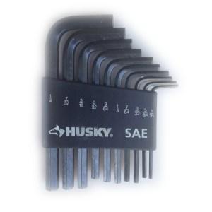 Husky SAE Hex Key Set