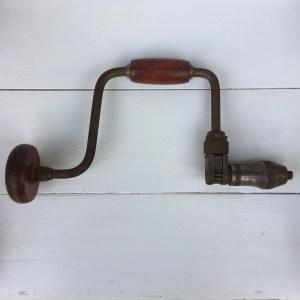 Mohawk-Shelburne Ratchet Brace Hand Drill No. 1610