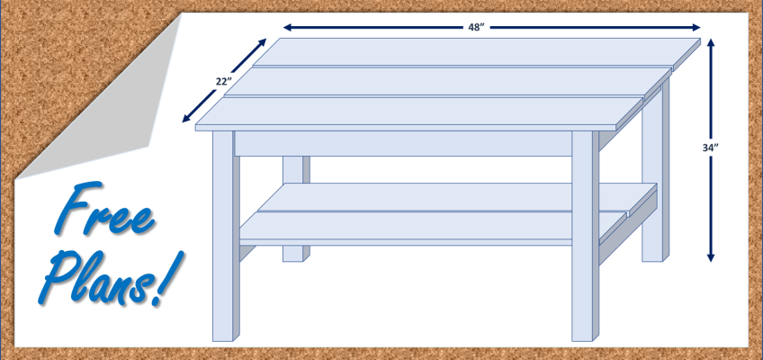 DIY Adirondack Table Plans Free