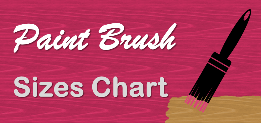 Paint Brush Sizes Guide Inches for Wood Finishes