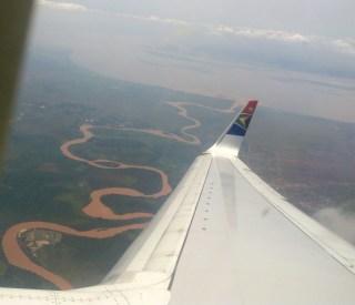 Sue's first glimpse of Congo