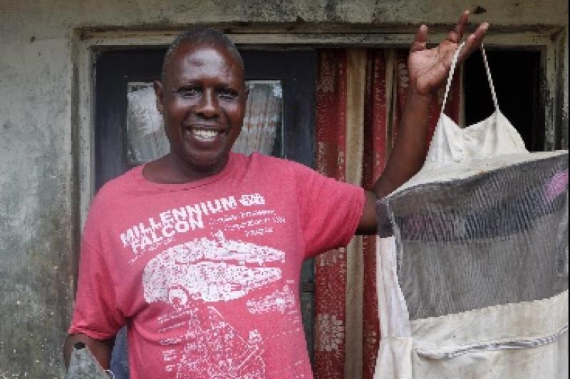 PLAAC beekeeping project in Mbanza-Ngungu