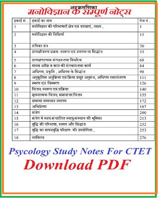Manovigyan pdf Download in Hindi   मनोविज्ञान   CDP Ebook