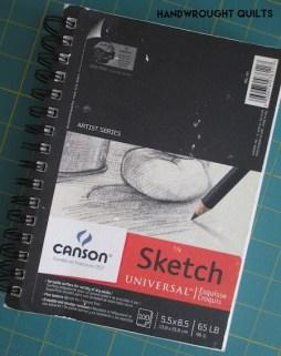 My sketchbook! 5.5x8.5