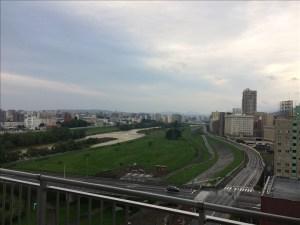 豊平川沿いのマンションハウスクリーニング