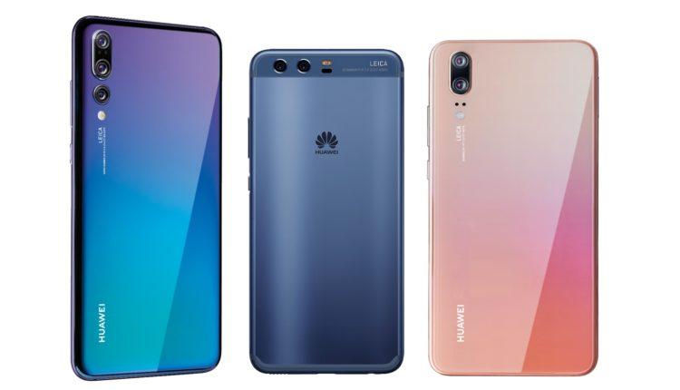 Huawei P10 P10 Plus Und Huawei P20 P20 Pro Im Vergleich