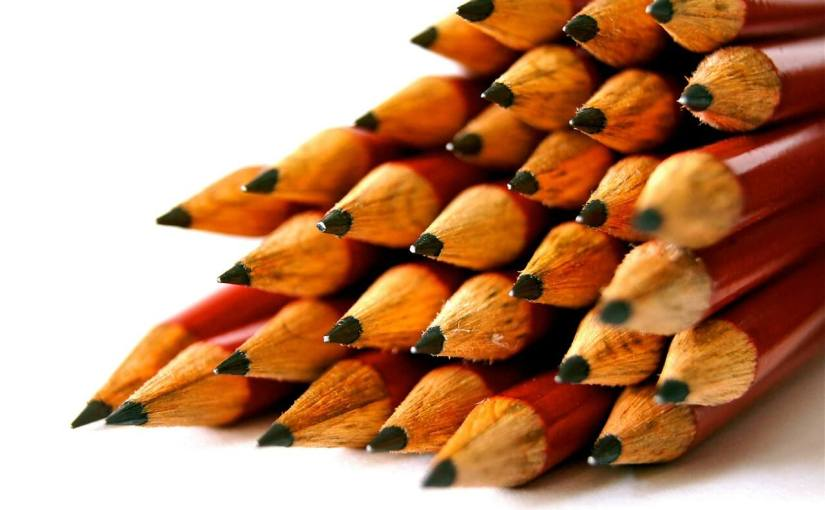 Image of pencil tips