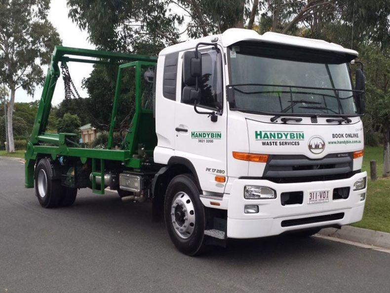 Skip Bin Hire - Handybin Truck Fleet No.3