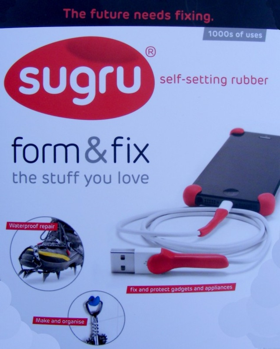 sugru use it to fix mend and improve your stuff. Black Bedroom Furniture Sets. Home Design Ideas