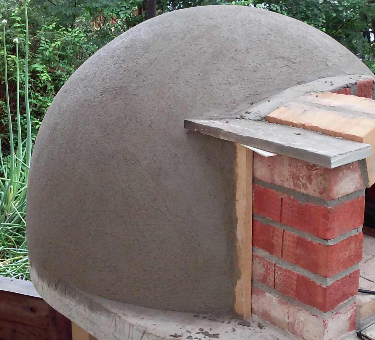Build Small Wood Fired Pizza Oven 75cm Or 30 Diameter Wood Frame Base