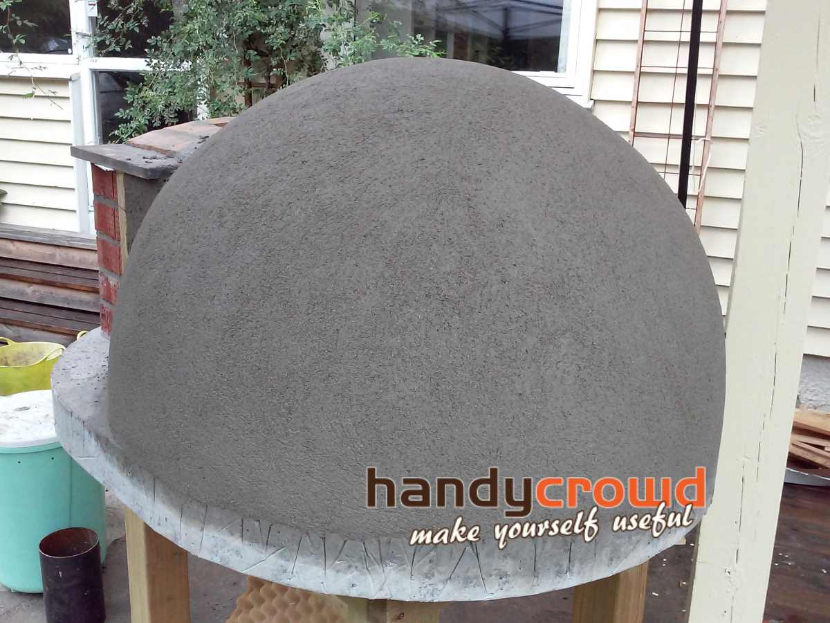 Build Small Wood Fired Pizza Oven 75cm Or 30 Quot Handycrowd Com