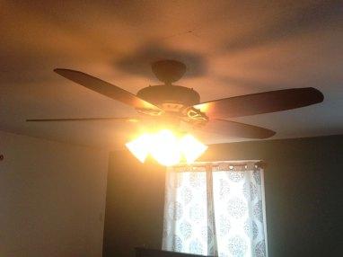 hunter ceiling fan installation