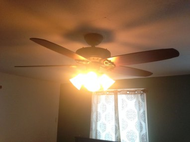 hunter ceiling fan installation