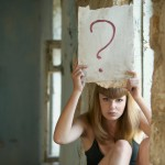 Woman with a question