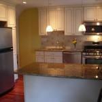 A finished Handyguy kitchen remodel