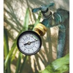 You can use this affordable pressure gauge available in our store. The Handyguys discuss how to use it in the podcast.