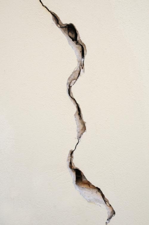 plaster crack