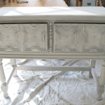 Tips for Distressing Furniture by Using White Spray Paint
