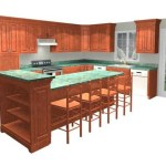 Multi-Level Kitchen Island Design Ideas