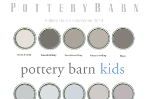 Pottery Barn Paint Colors 2009