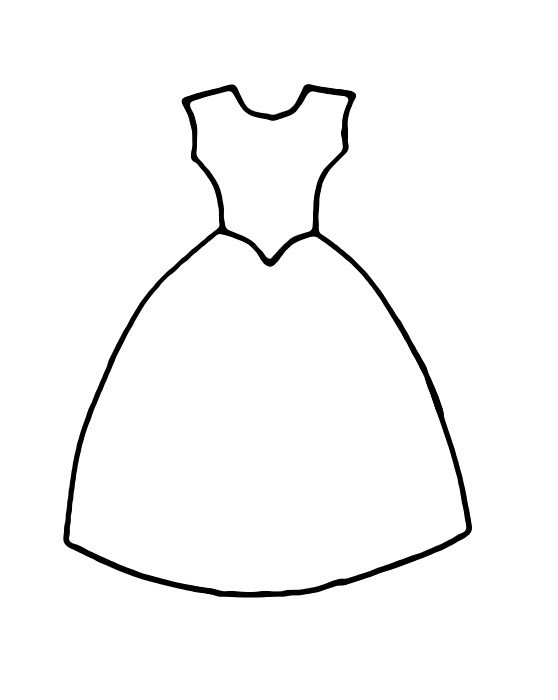 раскраски для девочек принцессы в красивых платьях