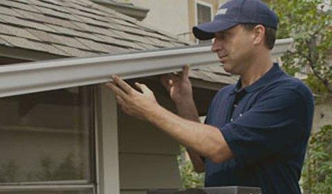 handyman exterior gutter repair