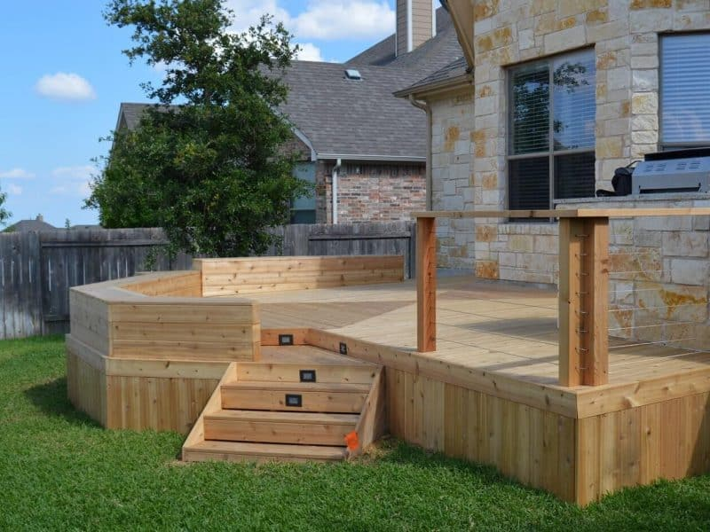 best deck construction companies deck builder contractors near mcallen tx handyman mcallen