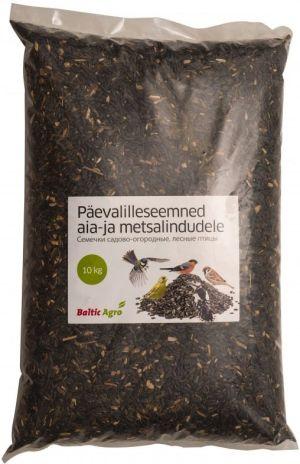 Linnutoit päevalilleseemned aia- ja metsalindudele 10kg