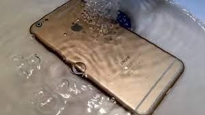 iPhone 6S nass geworden