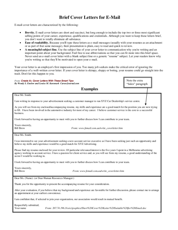 Cover Letters For Customer Service Edit Fill Sign Online Handypdf