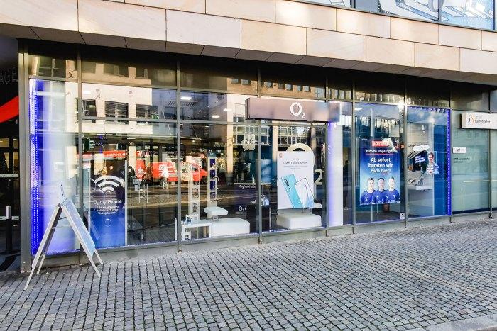 Handy Reparatur im o2 Shop Jena Holzmarkt