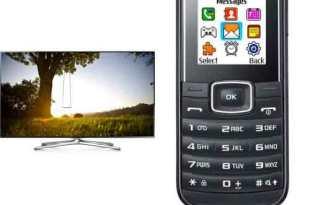 """55"""" 3D-LED-TV Samsung + 2 x AllNet Flat 89,98€ mtl"""