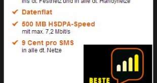 Allnet Flat ohne Laufzeit im D1 Netz für nur 29.99€ mtl