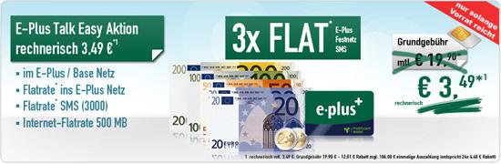 eplus & Base Flatrate & SMS-Allnet Flat