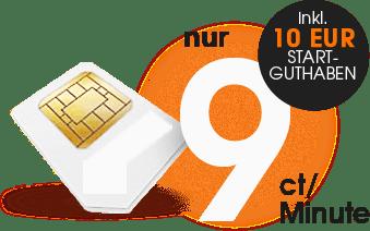 Prepaid Anbieter im D1 Netz