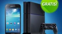 3D LED TV Samsung + PlayStation 4 + S4 mini