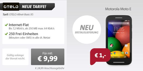 250 Frei-Einheiten + Internet + Handy 9.99€ mtl