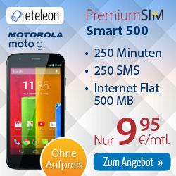 Motorola Moto G + SMART 500 9.95€ mtl