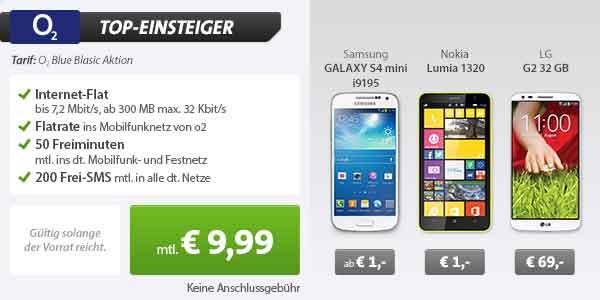 Nokia Lumia 1320 + o2 Blue Basic 9.99€ mtl