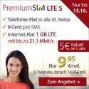 LTE 1 GB Internet Flatrate+ AllNet Flat nur 9.95€ mtl