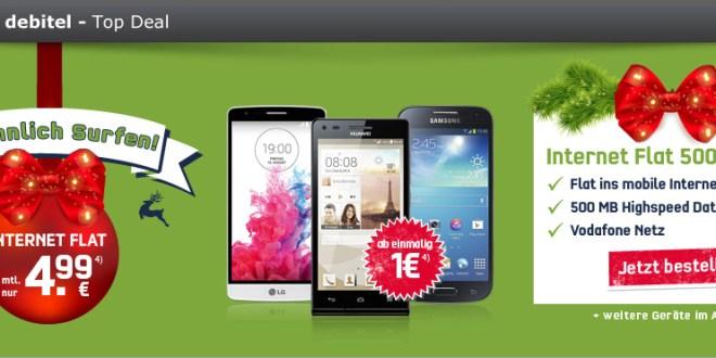LG G2 Mini LTE + Internet-Flat 500 nur 4.99€ mtl