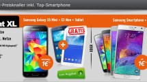 Allnet Flat XL mit Galaxy S5 Mini + S3 Neo + Tablet