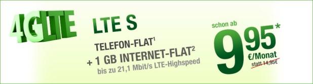 LTE-Full Flat für 14.95 € ohne Laufzeit!