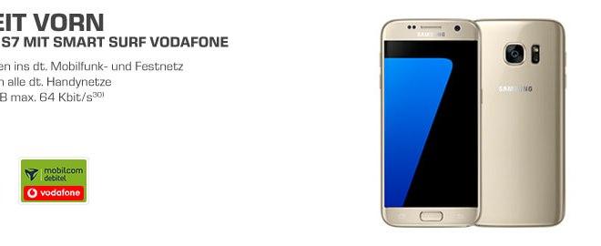 Preisknaller! Samsung S7 + 1GB + 50 Min/SMS im D Netz - nur 14,99€ mtl.
