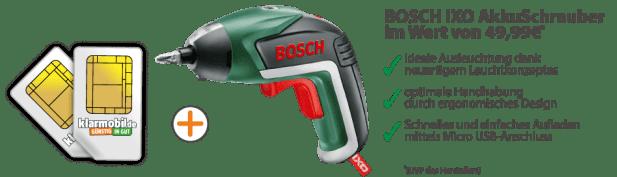 BOSCH IXO V AkkuSchrauber für 3,90 Euro