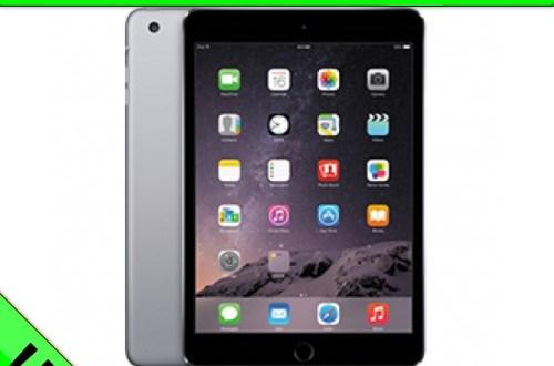 iPad mini 3 + Internet-Flat LTE 6000 Telekom 34,99€ mtl.