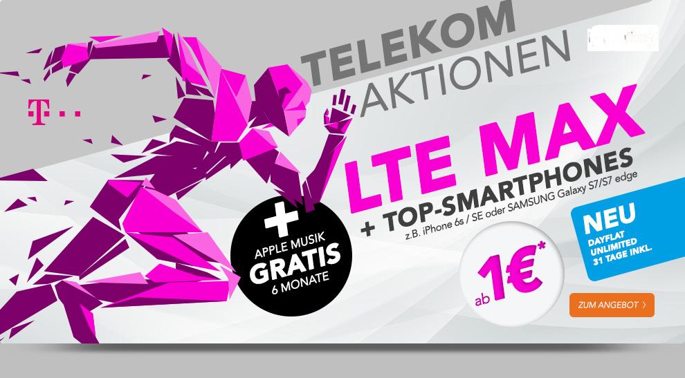 telekom aktionen lte max top smartphones handytariftipp. Black Bedroom Furniture Sets. Home Design Ideas